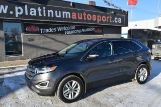 Used 2016 Ford Edge SEL REMOTE START !! HEATED SEATS !! LEATHER !! POWER LIFT GATE !! HEATED STEERING WHEEL !! for sale in Saskatoon, SK