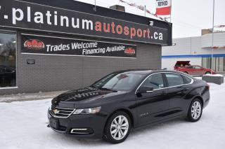 Used 2018 Chevrolet Impala 1LT REMOTE START !! NO ACCIDENTS !! VERY CLEAN UNIT !! for sale in Saskatoon, SK