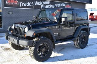Used 2011 Jeep Wrangler Sport LIFT KIT!! SPOT LIGHTS!! 35 INCH TIRES!! for sale in Saskatoon, SK