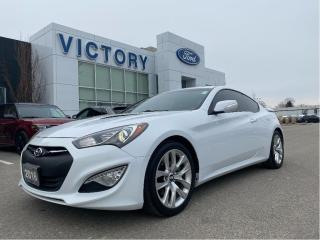 Used 2016 Hyundai Genesis Coupe Premium 3.8,Nav, Leather, Moonroof, winter wheels for sale in Chatham, ON