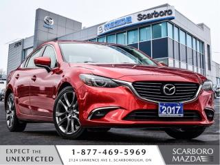 Used 2017 Mazda MAZDA6 GT|NAVI|LEATHER|SUNROOF|1 OWNER for sale in Scarborough, ON