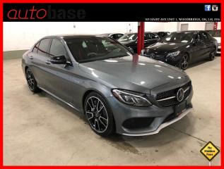 Used 2017 Mercedes-Benz C-Class C43 AMG 4MATIC DISTRONIC PERFORMANCE SEATS AMG DRIVER PREMIUM LED for sale in Vaughan, ON