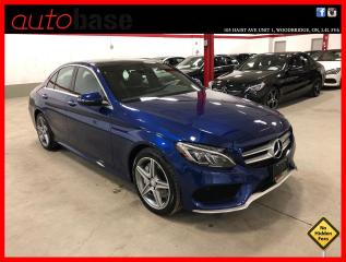 Used 2017 Mercedes-Benz C-Class C300 4MATIC PREMIUM PLUS BURMESTER SPORT LED 360 CAM for sale in Vaughan, ON