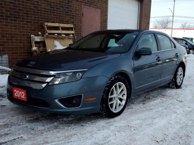 2012 Ford Fusion 4dr Sdn SEL AWD