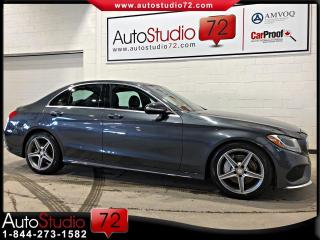 Used 2015 Mercedes-Benz C-Class C 300 AMG 4MATIC **NAVI**CUIR**TOIT* for sale in Mirabel, QC