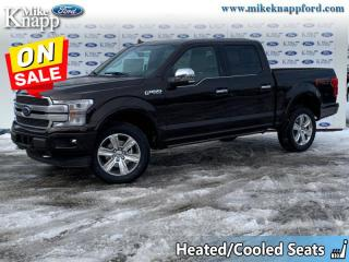 New 2020 Ford F-150 Platinum  - Leather Seats - Sunroof for sale in Welland, ON