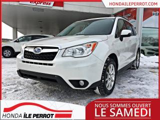 Used 2014 Subaru Forester I Touring AWD ,JAMAIS ACCIDENTÉ , UN SEUL PROPRIETAIRE , 8 PNEU , 8 MAG for sale in Île-Perrot, QC