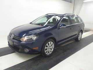 Used 2013 Volkswagen Golf TDI WAGON COMFRTLINE ONE OWNER 85KMS LOW KMS !! for sale in Burlington, ON