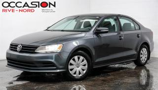 Used 2016 Volkswagen Jetta Trendline+ SIEGES.CHAUFFANTS+CAM.RECUL for sale in Boisbriand, QC