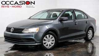 Used 2016 Volkswagen Jetta 1.8 TSI Trendline+ SIEGES.CHAUFFANTS+CAM.RECUL for sale in Boisbriand, QC