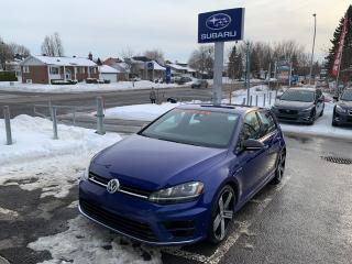 Used 2016 Volkswagen Golf R DSG FENDER NAVIGATION CUIR TOIT 4MOTION AWD for sale in Repentigny, QC