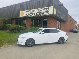 Used 2015 Lexus IS 250 F-Sport/AWD/Nav/SunRoof/RCam/H.Seats/NoAcc for sale in North York, ON