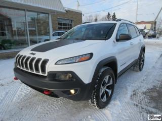Used 2016 Jeep Cherokee Trailhawk *ATT.REM.* for sale in Varennes, QC