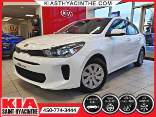 Used 2018 Kia Rio LX+ * CAMÉRA DE RECUL / SIÈGES CHAUFFANT for sale in St-Hyacinthe, QC