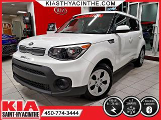 Used 2018 Kia Soul LX ** GR ÉLECTRIQUE / BLUETOOTH for sale in St-Hyacinthe, QC