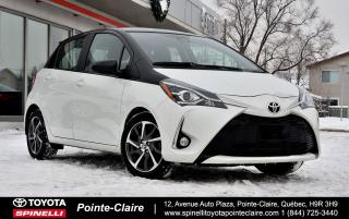 Used 2018 Toyota Yaris Hatchback SE PKG MAGS for sale in Pointe-Claire, QC