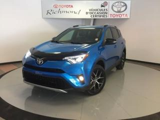 Used 2016 Toyota RAV4 SE AWD *TRÈS BEAU VÉHICULE* for sale in Richmond, QC
