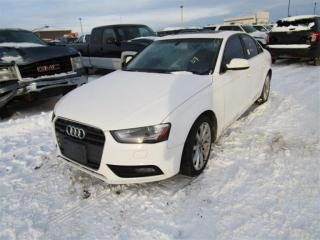 Used 2014 Audi A4 Premium for sale in Innisfil, ON