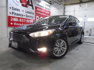 Used 2017 Ford Focus 5dr HB Titanium NAV,SUNROOF,B-CAM,NO ACCIDENT for sale in Oakville, ON