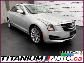 Used 2016 Cadillac ATS Luxury+AWD+GPS+Camera+Apple Play+Remote Start+2.0T for sale in London, ON