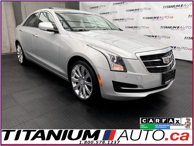 2016 Cadillac ATS Luxury+AWD+GPS+Camera+Apple Play+Remote Start+2.0T