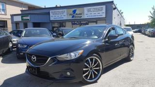 Used 2014 Mazda MAZDA6 GT w?navi/Backup Cam for sale in Etobicoke, ON