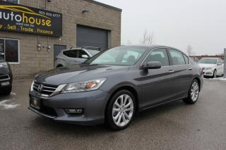 Used 2013 Honda Accord Sedan TOURING I4 NAVI HEATED LEATHER SUNROOF BACKUP CAM for sale in Newmarket, ON