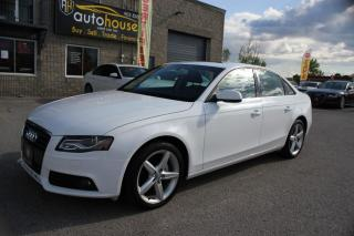 Used 2012 Audi A4 LEATHER,SUNROOF,2.OT,AWD for sale in Newmarket, ON