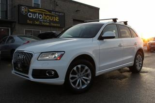 Used 2013 Audi Q5 QUATTRO 2.0L PREMIUM Plus LEATHER PANOROOF for sale in Newmarket, ON