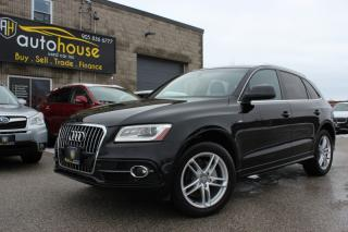 Used 2013 Audi Q5 PRESTIGE S LINE 2.0T QUATTRO NAVI BACKUP CAM SUNROOF for sale in Newmarket, ON
