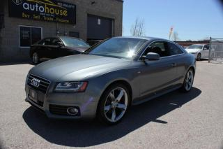 Used 2012 Audi A5 PRESTIGE S-LINE 2.0T QUATTRO NAVI BACKUP SENSORS SUNROOF for sale in Newmarket, ON