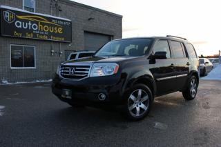 Used 2013 Honda Pilot 4WD TOURING 7 PASSENGER DVD SUNROOF NAVI BACKUP CAM for sale in Newmarket, ON