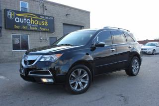 Used 2012 Acura MDX AWD Elite Pkg 7 Passenger Navi Sunroof DVD for sale in Newmarket, ON