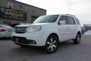 Used 2012 Honda Pilot 4WD TOURING DVD 7 PASSENGER NAVI SUNROOF for sale in Newmarket, ON