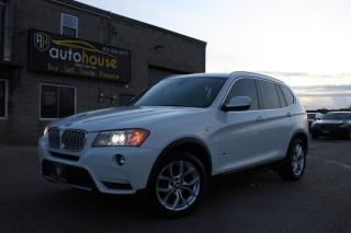 Used 2013 BMW X3 AWD 28i NAVI PANO ROOF BLUETOOTH for sale in Newmarket, ON