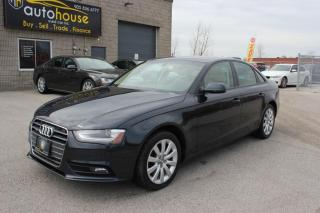 Used 2013 Audi A4 QUATTRO 2.0T LEATHER SUNROOF HEATED SEATS for sale in Newmarket, ON
