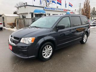 Used 2014 Dodge Grand Caravan SXT- Navi- DVD- Rear view camera for sale in Stoney Creek, ON