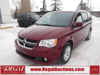 Used 2019 Dodge Grand Caravan SXT Premium Plus WAGON 7 PASS 3.6L for sale in Calgary, AB