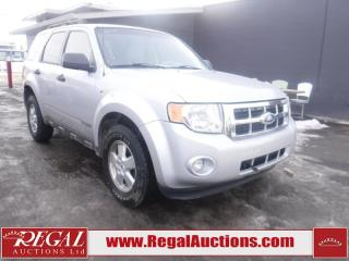 Used 2008 Ford Escape XLT 4D Utility FWD for sale in Calgary, AB