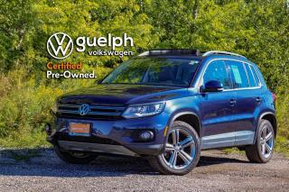 Used 2017 Volkswagen Tiguan Highline | Navigation, Heated Seats, Bluetooth for sale in Guelph, ON
