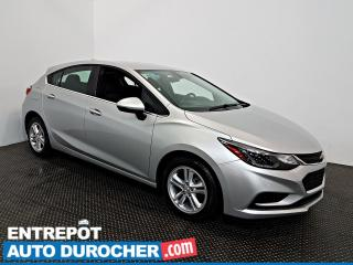 Used 2018 Chevrolet Cruze LT Automatique - AIR CLIMATISÉ - Sièges Chauffants for sale in Laval, QC