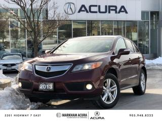 Used 2013 Acura RDX V6 AWD for sale in Markham, ON