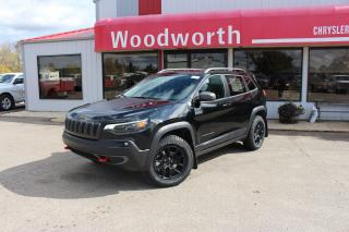 New 2020 Jeep Cherokee Trailhawk Elite for sale in Kenton, MB