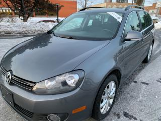 Used 2014 Volkswagen Golf Wagon Comfortline TDI MANUAL PANORAMIC SUNROOF for sale in Concord, ON