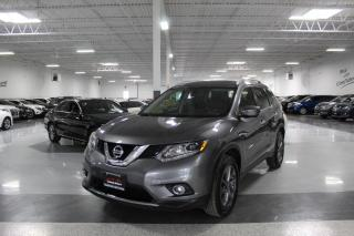 Used 2016 Nissan Rogue SL PREMIUM AWD I NAVIGATION I 360 CAM I LEATHER I PANOROOF for sale in Mississauga, ON