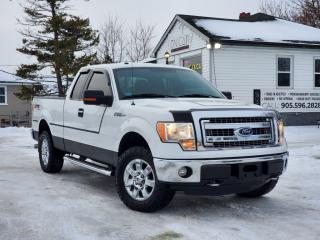 Used 2013 Ford F-150 No Accidents XLT XTR Supercab 4x4 V8  Bluetooth Power Seats for sale in Sutton, ON