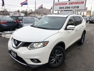 Used 2016 Nissan Rogue SL AWD w/TECH Pkg Navigation/Camera/Blind Spot for sale in Mississauga, ON