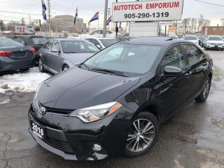 Used 2016 Toyota Corolla LE Touring Sunroof/Alloys/Btooth/Htd Sts &GPS for sale in Mississauga, ON
