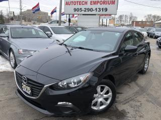 Used 2015 Mazda MAZDA3 Auto Bluetooth/All Power/Hatchback&GPS* for sale in Mississauga, ON
