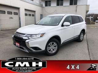 Used 2019 Mitsubishi Outlander ES  ES AWD CAM APPLE/ANDR-PLAY for sale in St. Catharines, ON